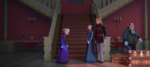 Agnarr und Iduna verabschieden Elsa