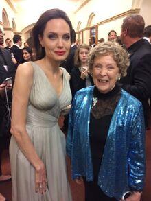 Angelina Jolie & Margaret Kerry