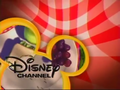 Disney Channel logo - Picnic (yellow and red)
