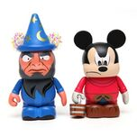 Disney Vinylmation Set - Fantasia Series 1 - Mickey & Yensid