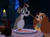 La Escena de los Espaguetis