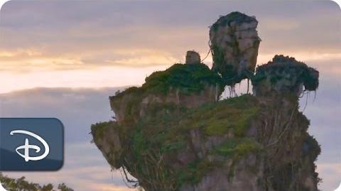 Imagineers Partner With Avatar Filmmakers To Create Pandora - The World of Avatar