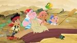 Jake&crew with Smee-Izzy's Trident Treasure