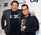 Josh Gad & Greg Grunberg Stand Up to Cancer event