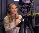 Kristen Bell behind the scenes Frozen
