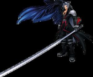 SephirothKHCostume in Dissidia