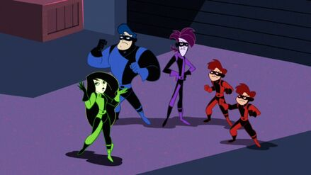 Shego's and her Brothers