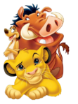 Simba Timon and Pumbaa