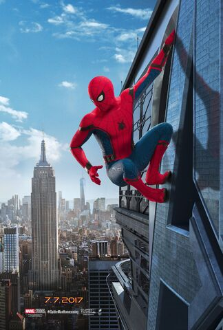 image spider man homecoming poster 2 jpg disney wiki fandom