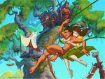 Tarzanjaneswinginvine