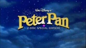Питер Пэн (1953) – первый DVD-трейлер 2007 года