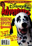 Disney adventures december 1996 cover dalmatians space jam