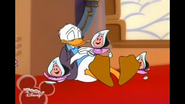 Donald falling asleep