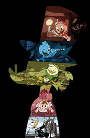 DuckTales 2017 textless poster