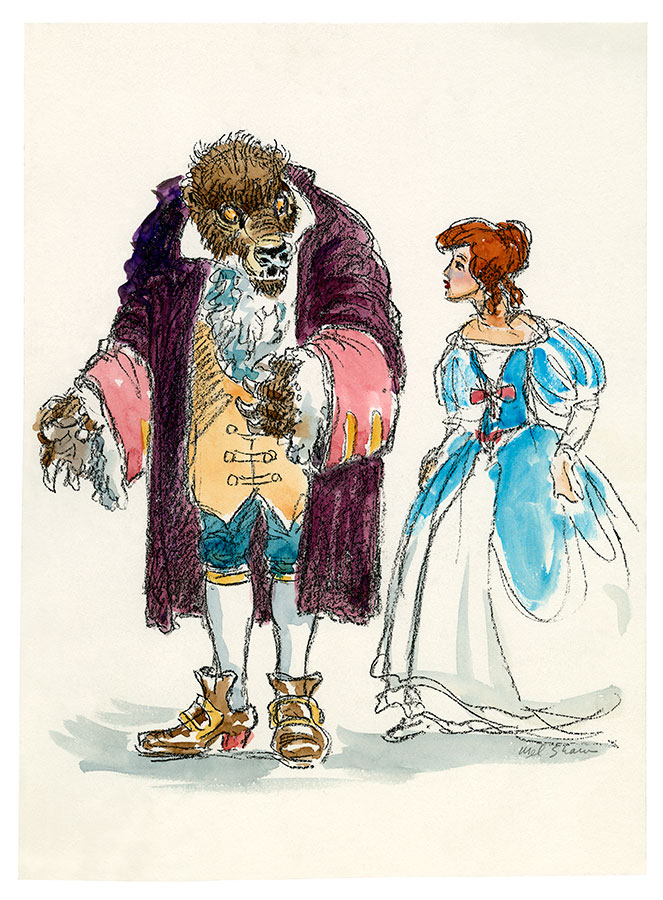 Early Belle And Beast Concept
