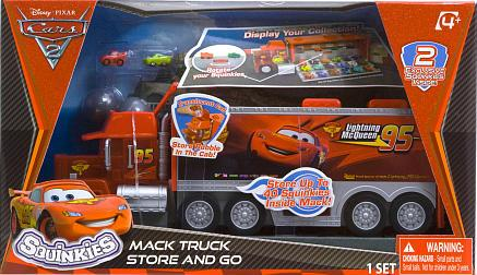 Squinkies Cars  Mack Truck Store And Go