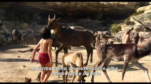 Mogli O Menino Lobo - Por trás das camêras