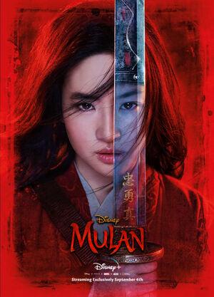 Mulan (2020, Disney+ Original Poster)