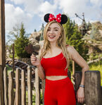 Peyton List Minnie Ears DisneyWorld