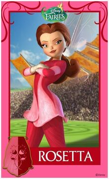 Pixie-Hollow-Games-Trading-Cards-Rosetta