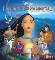 Pocahontas Blue-Ray Combo Cover