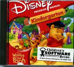 Winnie the pooh kindergarten cover