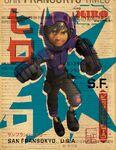 Big Hero 6 Hiro style poster