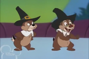 Chip annoyed with Dale