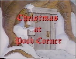 Christmas at Pooh Corner title
