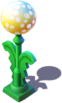 D-dandelion lamp post