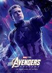 Endgame Internacional Character Poster (Captain America)