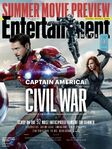 Entertainment Weekly - Captain America Civil War - Cover 2