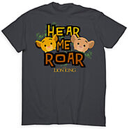 Hear Me Roar Tsum Tsum T Shirt