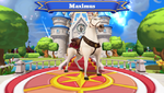 Maximus Disney Magic Kingdoms Welcome Screen