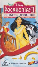Pocahontas II Journey to a New World 1999 AUS VHS