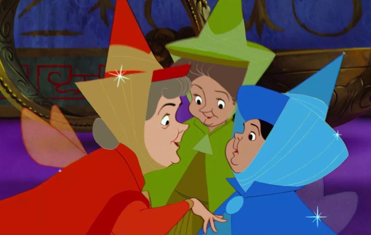 Flora, Fauna, and Merryweather | Disney Wiki | FANDOM powered by Wikia