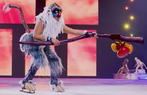 Rafiki on Ice 1 (lighter costume)