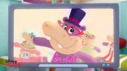Animated hallie on tv