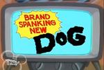 Brand Spanking New Dog logo