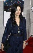 Courteney Cox Bedtime Stories premiere