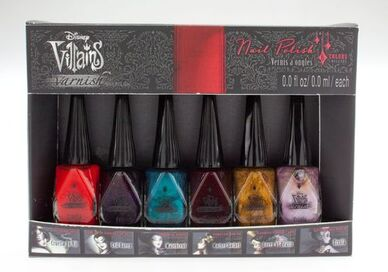 DisneyVillainsDesignerCollectionNailPolish
