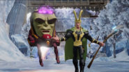 Disney INFINITY Loki and MODOK