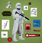 Force Awakens Snowtrooper Fathead