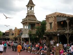 Frontierland of Magic Kingdom
