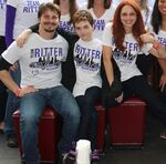Jason Ritter Amy Yasbeck at Team Ritter Memorial Fund