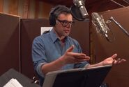 Jemaine Clement behind the scenes Moana