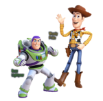 KHIII Woody and Buzz Renders