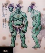MR Hulk (Prototype sketch)