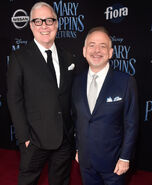 Marc Shaiman & Scott Wittman Mary Poppins Returns premiere