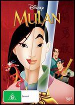 Mulan 2013 AUS DVD